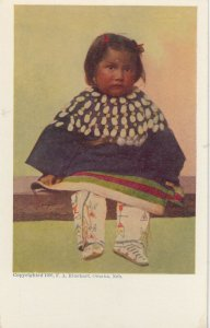 F.A. RINEHART ; Indian Girl , 1905
