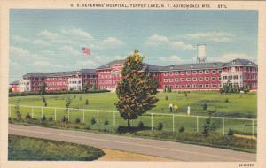 U. S. Veterans' Hospital, Tupper Lake, New York, ADIRONDACK MTS., 30-40s