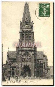 Old Postcard Newfoundland L Eglise Saint Denis