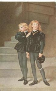 The Princes in the Tower, Sir John E. Millais