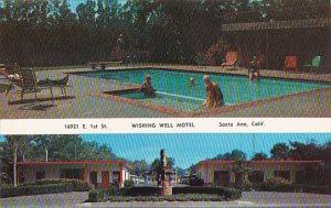 California Santa Ana Wishing Well Motel With Swimming Pool