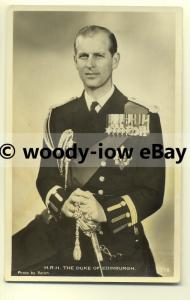r0301 - The Duke of Edinburgh - Prince Philip - postcard