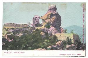 Capri Italy Faro di Tiberio Lighthouse Tiberius UND Postcard