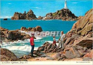 The Modern Postcard Corbiere Lighthouse Jersey CI