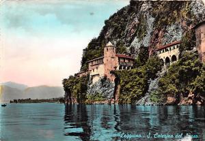 Leggiuno Italy Postcard S Caterina del Sassa Leggiuno