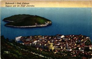 CPA Croatia Dubrovnik i otok Lokrum - Ragusa und die Insel Lokrum (570362)