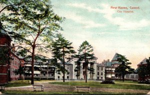 Connecticut New Haven City Hospital 1908
