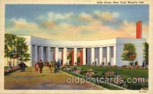 Rose Court New York Worlds Fair 1939 Exhibition 1939