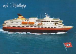 MS Nordkapp Ship Postcard