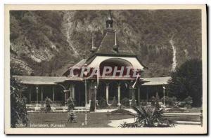Old Postcard Kursaal Interlaken