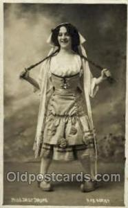 Theater Post Card Postcards  Miss Daisy Jerome