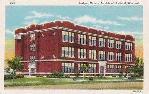 Wisconsin Ashland Latimer Manual Art School Curteich