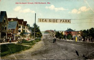 Maine Old Orchard Sea Side Park Old Orchard Street 1911