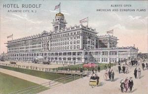 New Jersey Atlantic City Hotel Rudolf Always Open American And European Plans