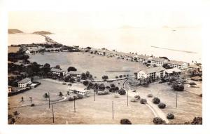 Fort Amador Panama Aerial View Real Photo Antique Postcard J79343