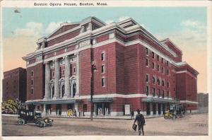 Massachusetts Boston Opera House 1924
