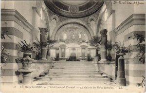CPA Le MONT-DORE-L'Établ. THERMal-La Galerie des Bains Romains (46517)