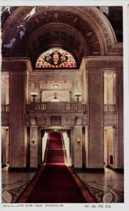 c1910 JAPAN Japanese Postcards Staircase for the Emperor INTERIOR
