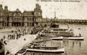 Spain - Barcelona. Embarcadero, Port of Peace