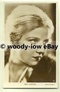 b2147 - Film Actress - Ann Harding - postcard