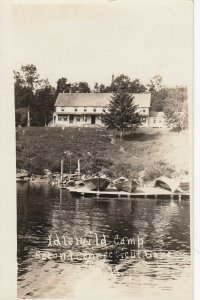 RP: Idlewild Camp , Second Connecticut Lake, New Hampshire, 1910s