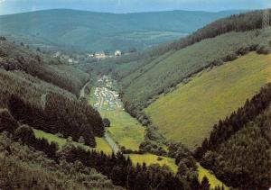 Belgium Camping du Vieux Moulin La Roche en Ardenne Panorama