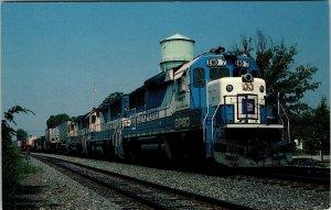 Postcard EMD GP-60 Demonstrator EMD-7 Norfolk Southern Locomotive Train Unposted