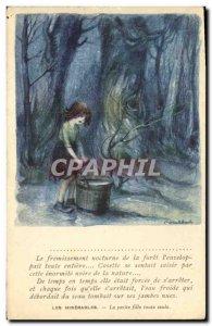 Old Postcard Fantasy Illustrator Poulbot Victor Hugo Les Miserables The littl...