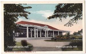 Pavilion, Lakeside Park, Auburn NY