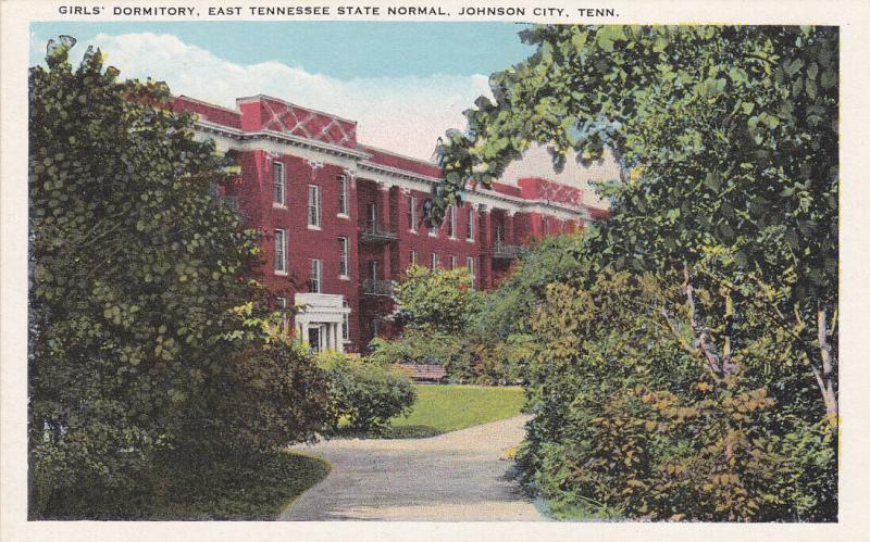 JOHNSON CITY, Tennessee, 00-10s; Girls' Dormitory, East Tennessee State Normal