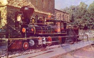 NV - Glenbrook. Locomotive Glenbrook