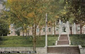 BELLEVILLE , Ontario, 1900-10s ; Court House