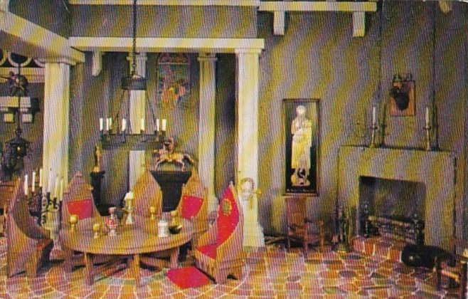 South Dakota Black Hills Stuart Castle Interior At Rockerville Gold Town