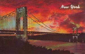 George Washington Bridge New York City New York