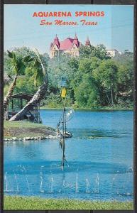 Texas, San Marcos, Aquarena Springs, unused