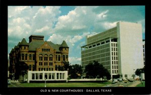 Texas Dallas Old & New Court House