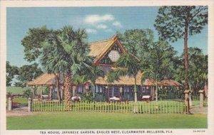 Florida Clearwater Belleair Tea House Japanese Garden Curteich