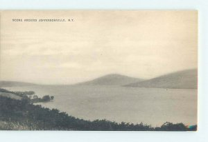 Divided-back NATURE Jeffersonville In Catskills by Liberty & Roscoe NY AD4845