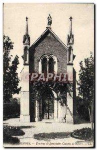 Old Postcard Lourdes Shrine Bernadelle Convent of Nevers