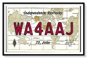 Kentucky, Independence QSL Ham Radio - (MX-007)