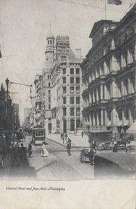 PHILADELPHIA , Pa. , 1901-07 ; Chesnut Street , West from 9th Street