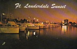Florida Fort Lauderdale Sunset
