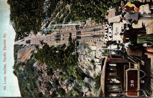 California Mount Lowe Incline Pacific Electric Railway 1908