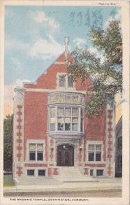 The Masonic Temple Bennington Vermont 1921