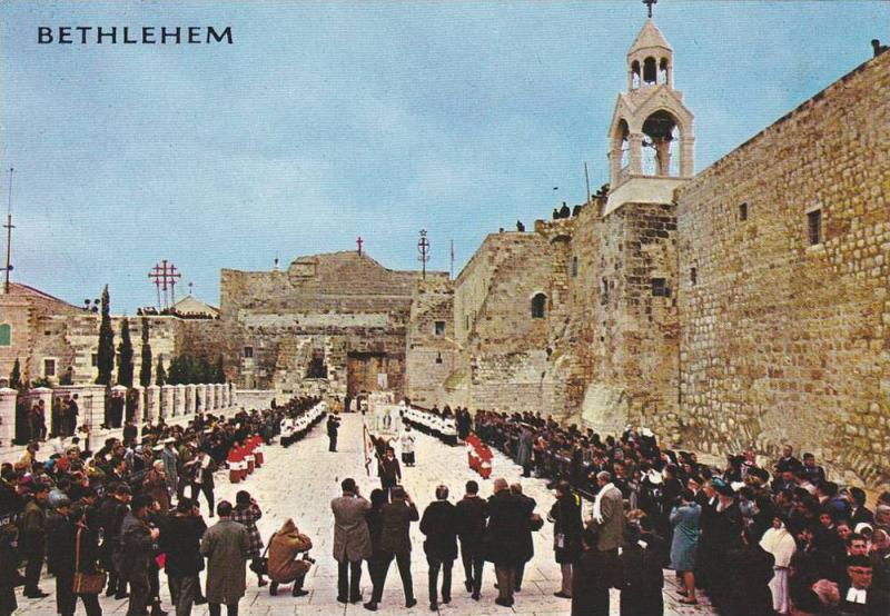 Bethlehem , Palestine , 50-70s : Christmas Procession
