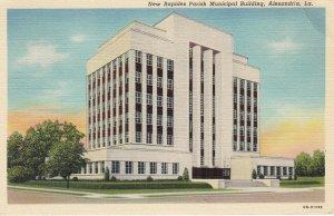 ALEXANDRIA , Louisiana , 1930-40s ; Municipal Building