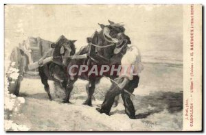 Old Postcard From Jerusalem bow & # 39Ecce Homo