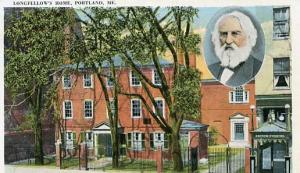 ME - Portland, Longfellow's Home