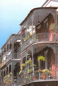 Lace Balconies - New Orleans, Louisiana, USA