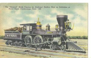 1940's The General ~ Train ~ Chattanooga, Tenn.